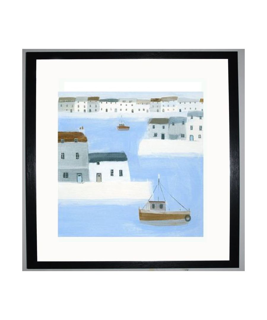 Image for Harbour Walls Art Print by Hannah Cole