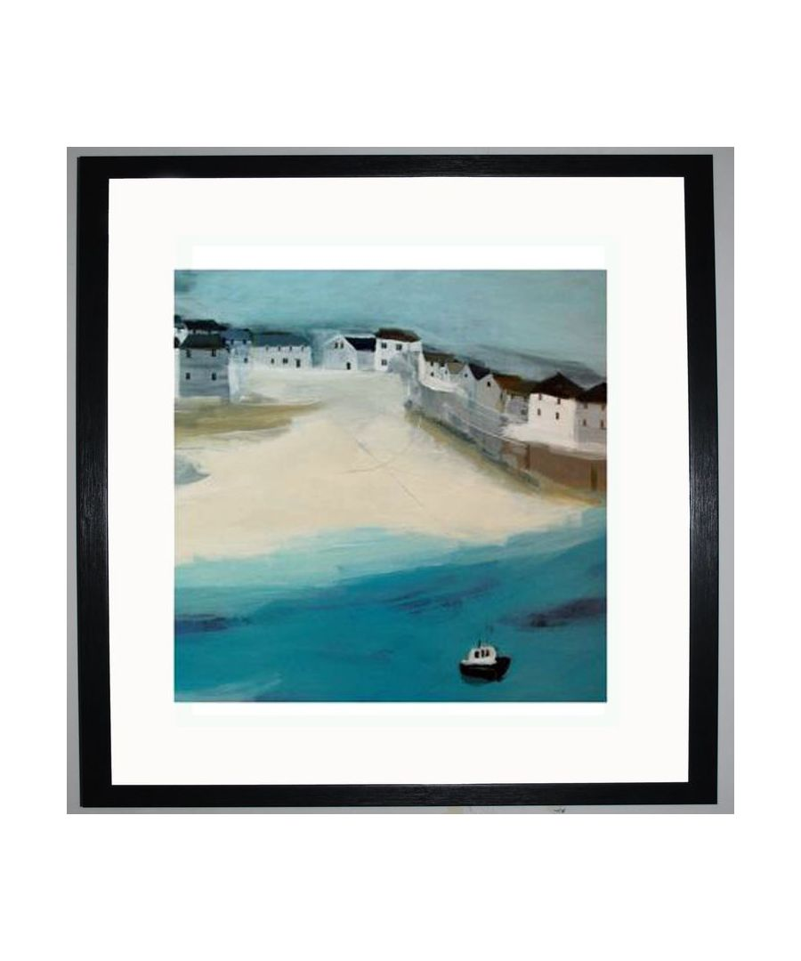 Image for Port Isaac Art Print by Hannah Cole
