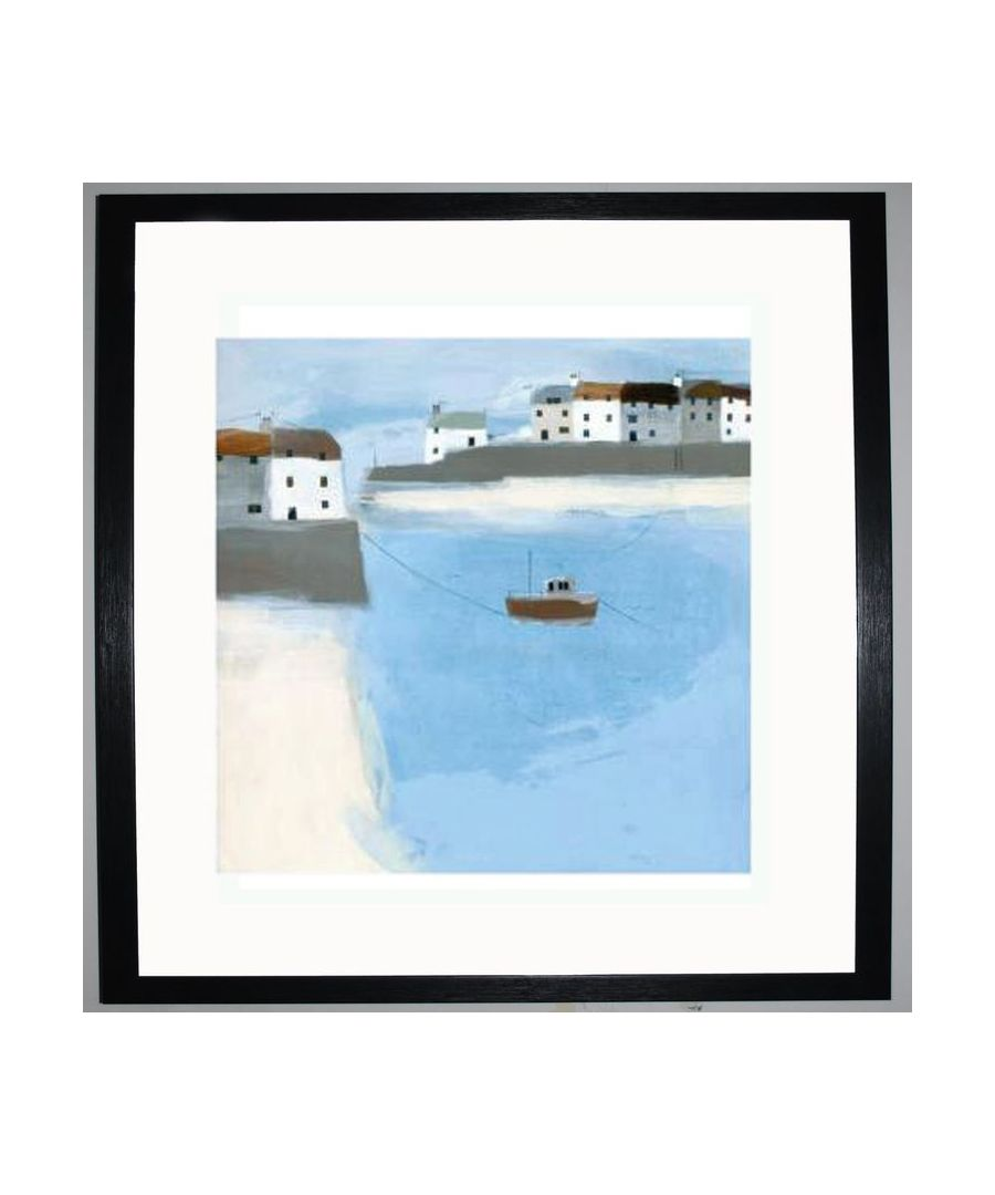 Image for Quiet Harbour Art Print by Hannah Cole