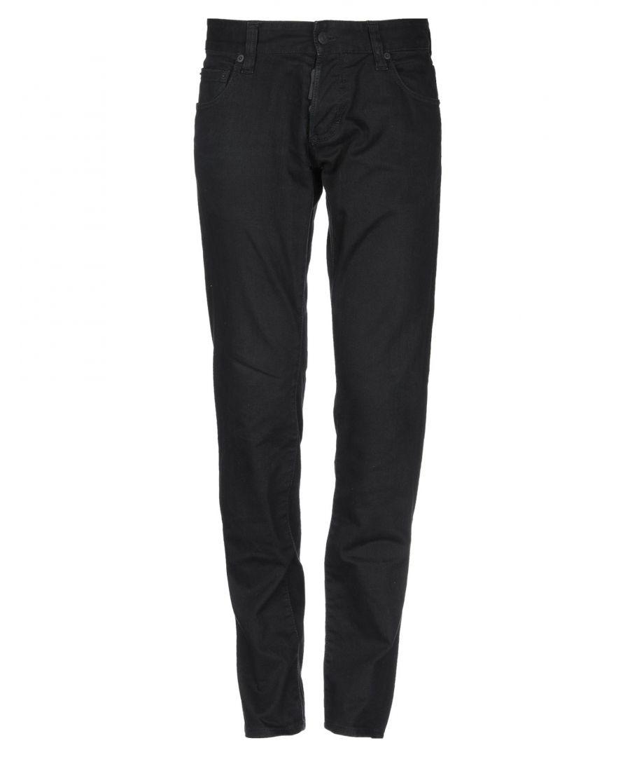 Image for Dsquared2 Black Cotton Jeans