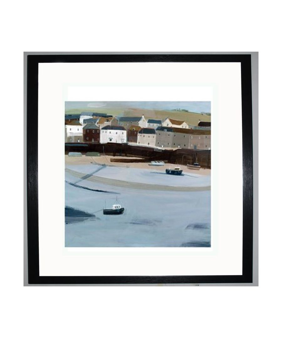 Image for Mousehole Harbour Art Print by Hannah Cole