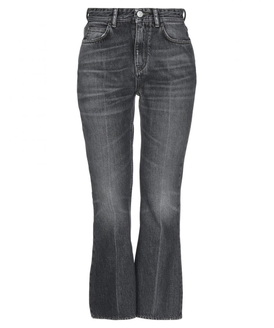 Image for Haikure Black Cotton High Waisted Jeans