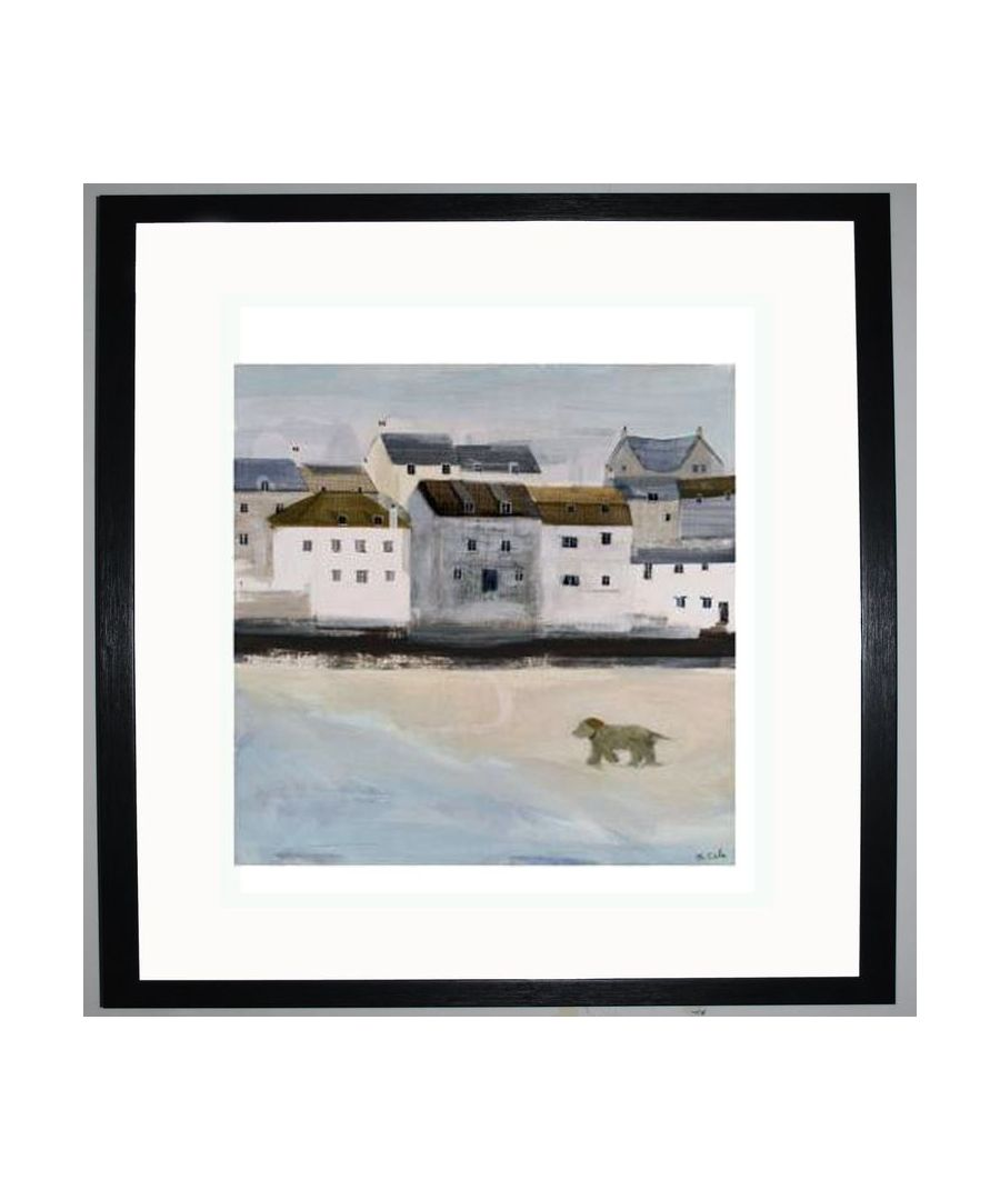 Image for Dog Running Art Print by Hannah Cole