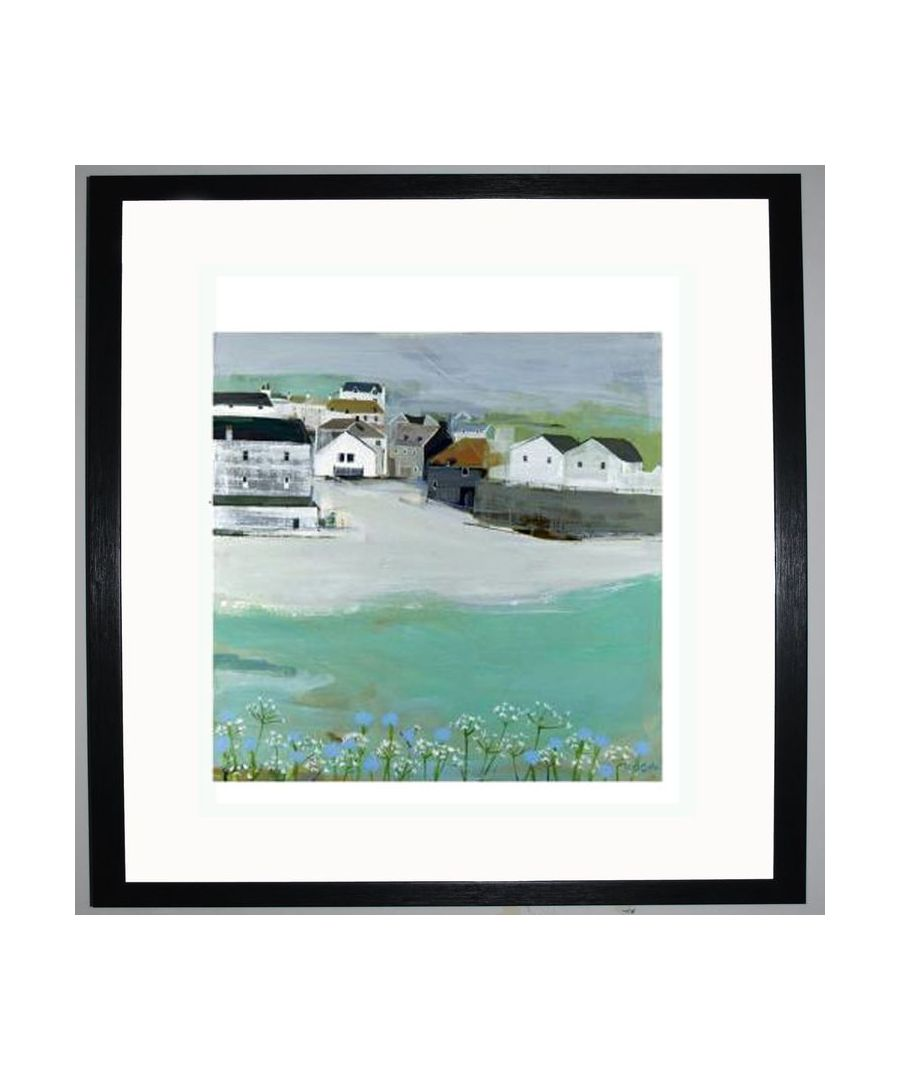 Image for Wild Garlic by the Sea Art Print by Hannah Cole