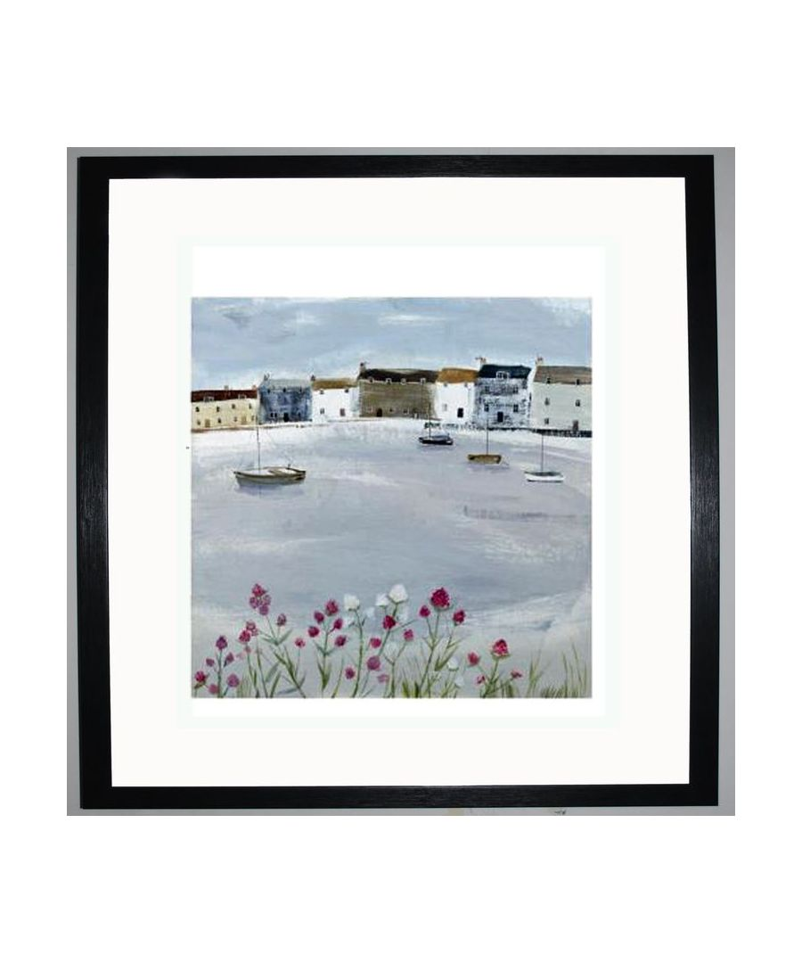 Image for Quiet Moorings Art Print by Hannah Cole