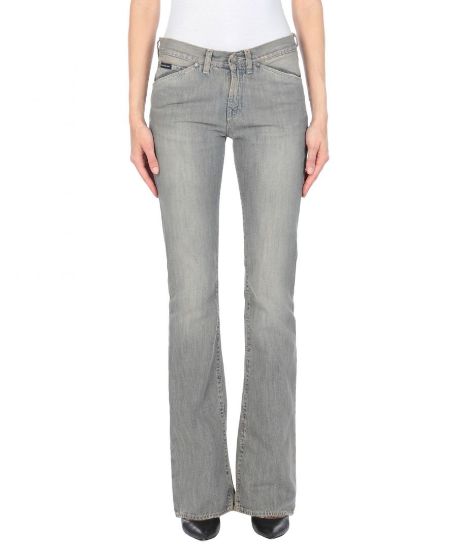 Image for Calvin Klein Jeans Blue Cotton Bootcut Jeans