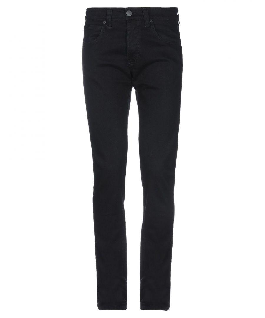 Image for Armani Collezioni Black Cotton Jeans