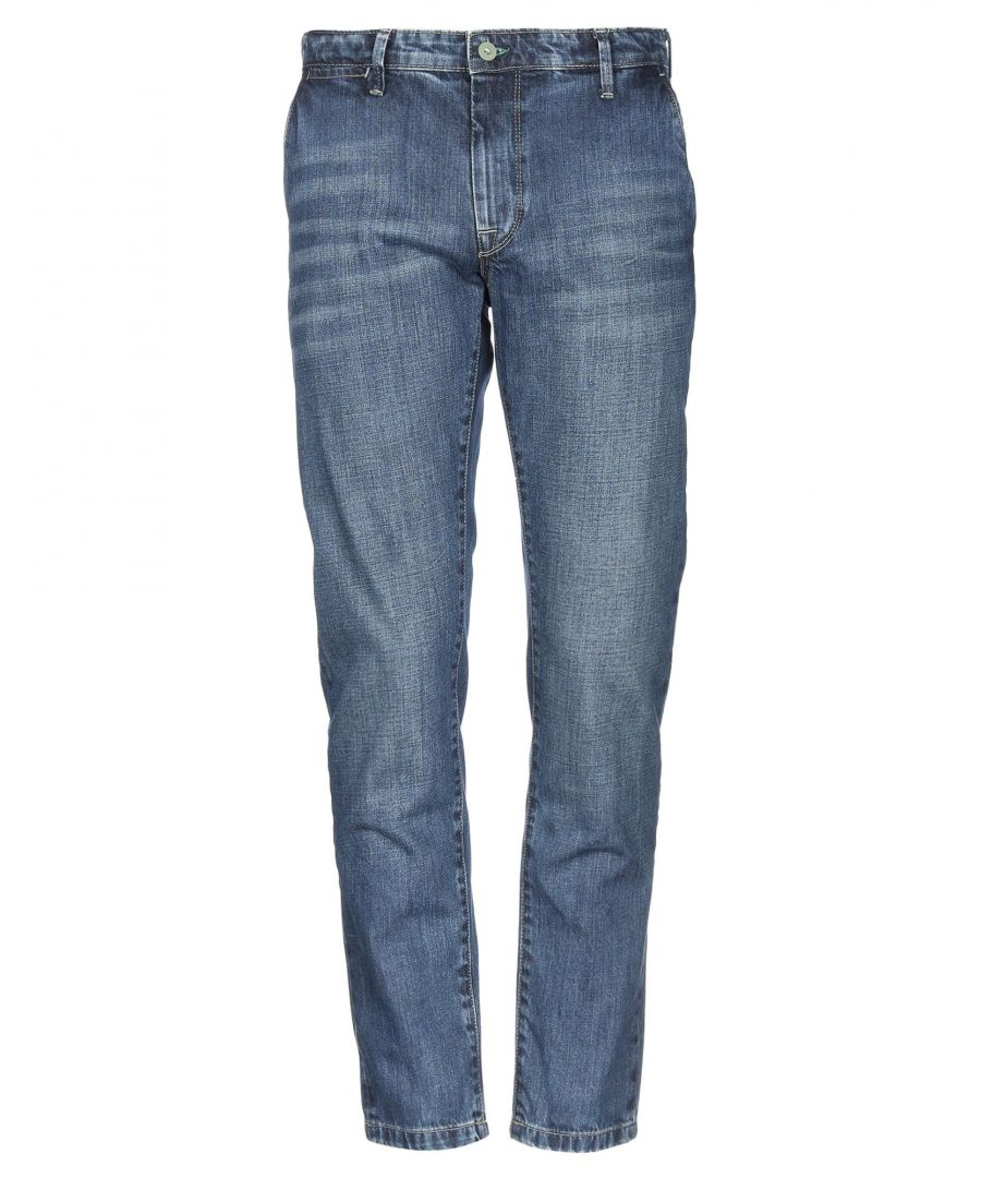 Image for Pepe Jeans Blue Cotton Dark Wash Jeans
