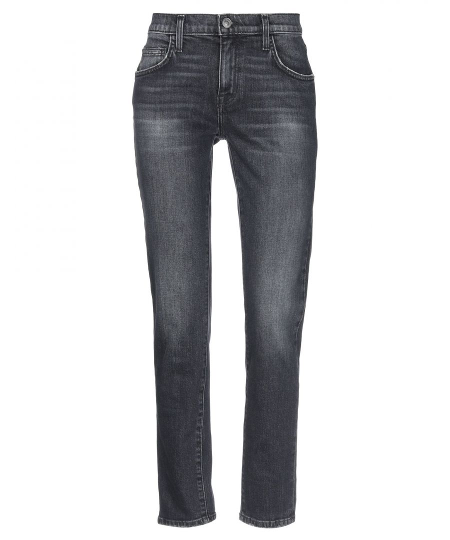 Image for DENIM Current/Elliott Steel grey Woman Cotton