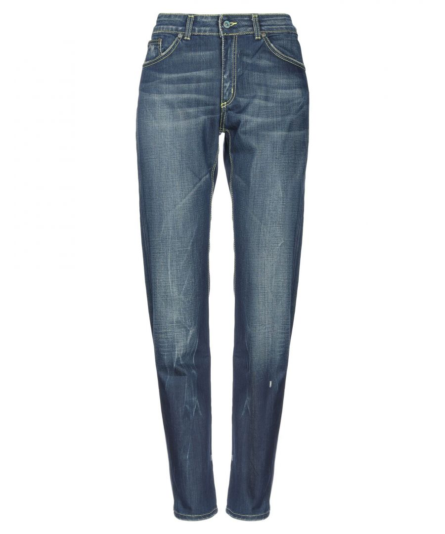 Image for Dondup Standart Blue Cotton Jeans