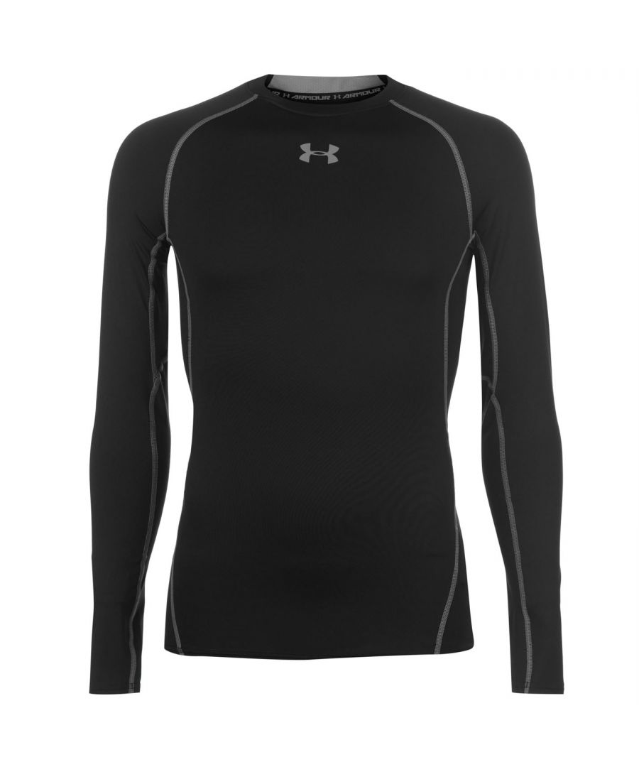 Image for Under Armour Mens Heatgear Long Sleeve T-Shirt Sports Training Baselayer Top