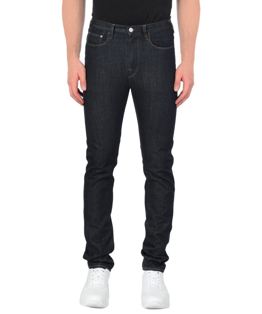 Image for Paul Smith Blue Cotton Jeans