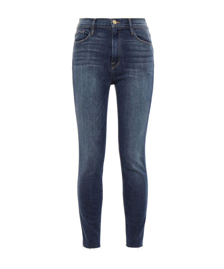Image for Frame Blue Cotton Skinny Jeans