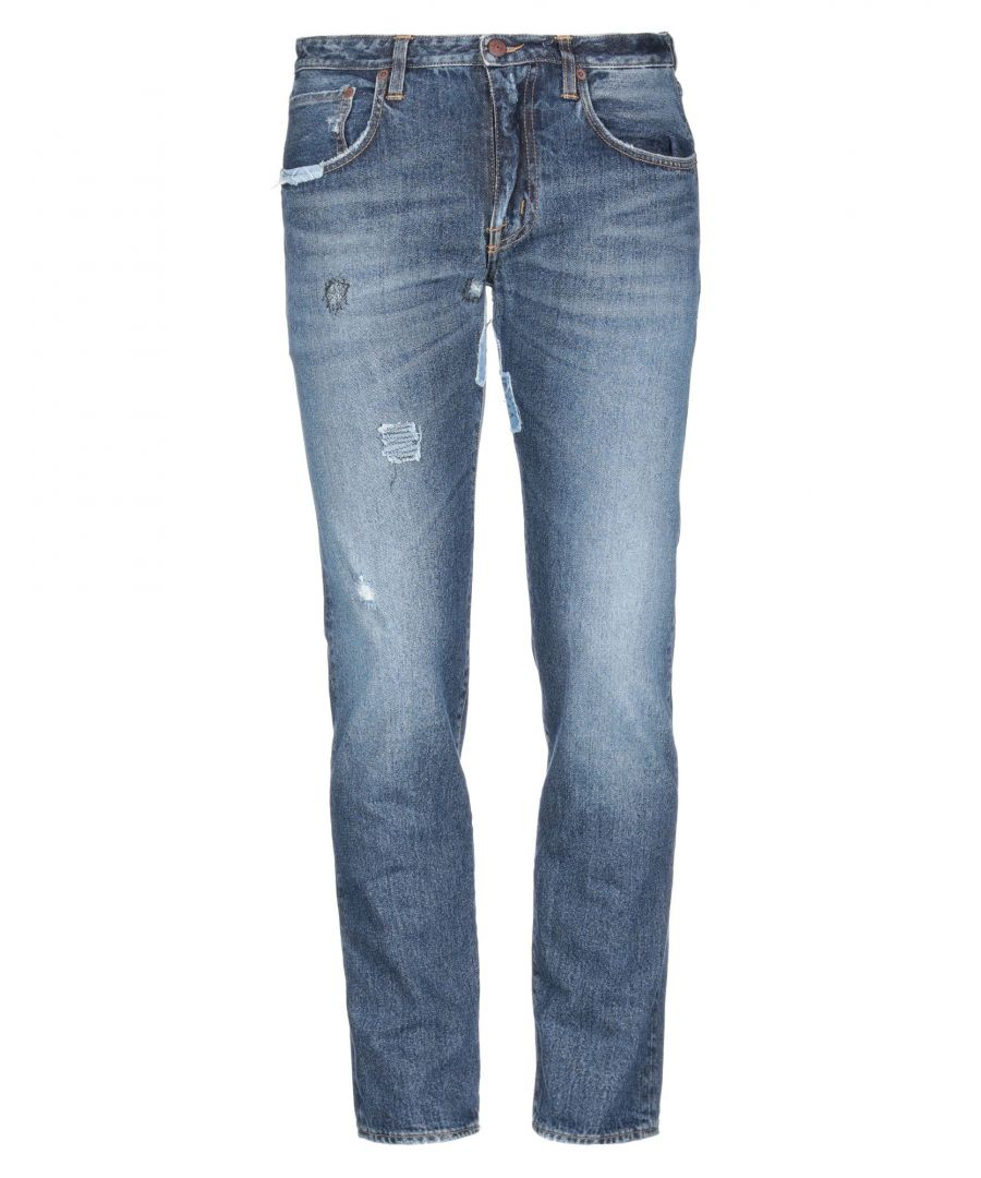 Image for (+) People Blue Cotton Dark Wash Jeans