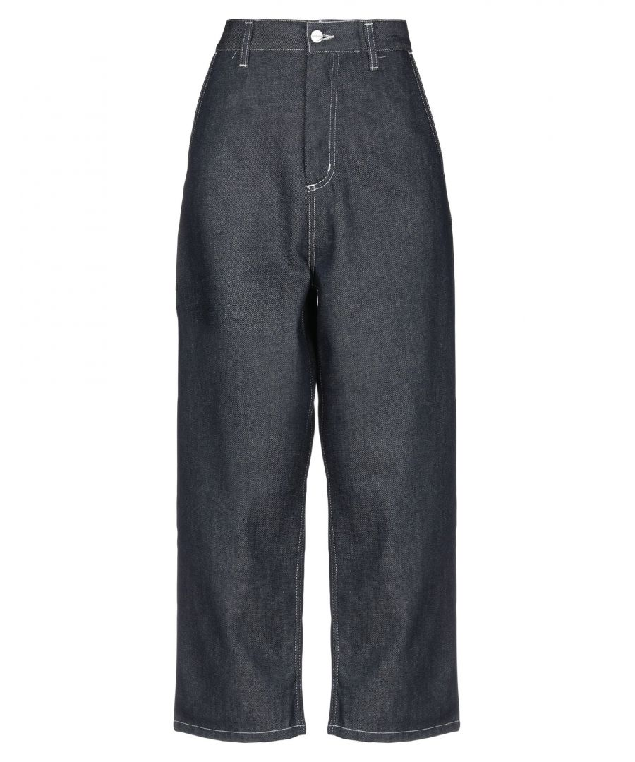 Image for Carhartt Blue Cotton Jeans