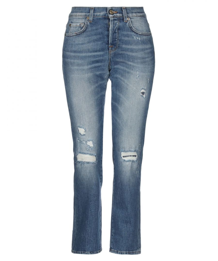 Image for DENIM 7 For All Mankind Blue Woman Cotton