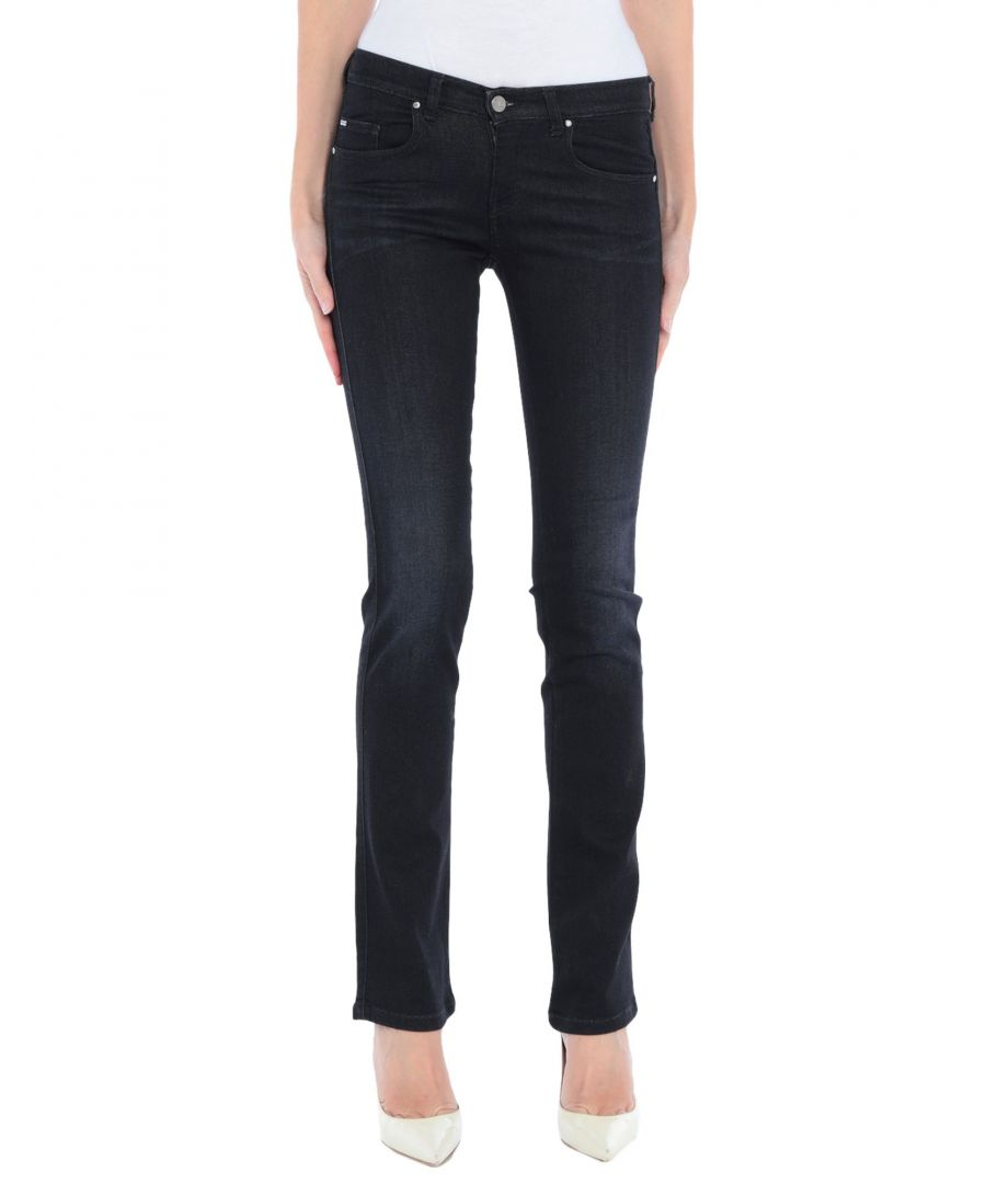 Image for Armani Jeans Black Cotton Jeans