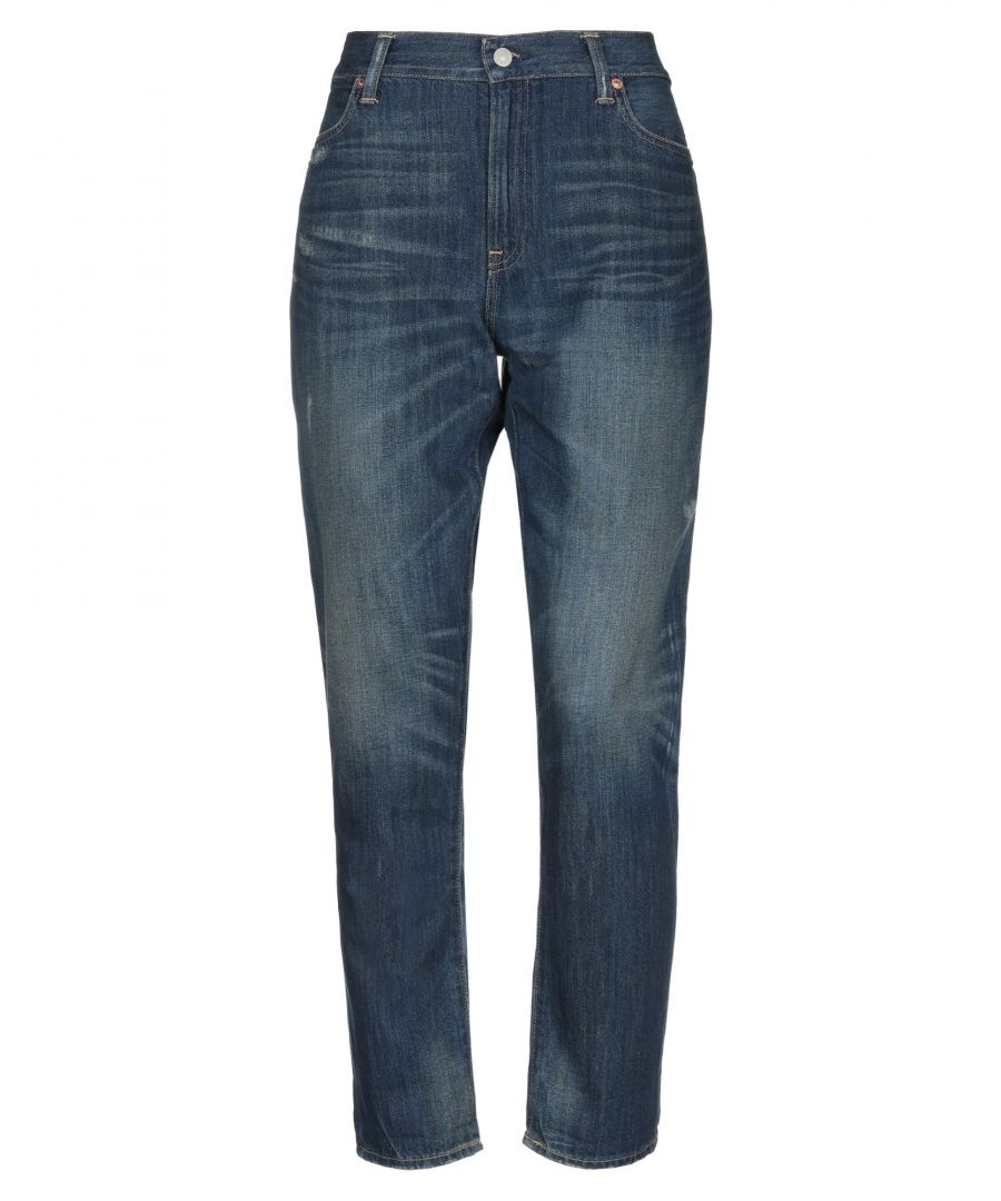 Image for Polo Ralph Lauren Blue Cotton Jeans