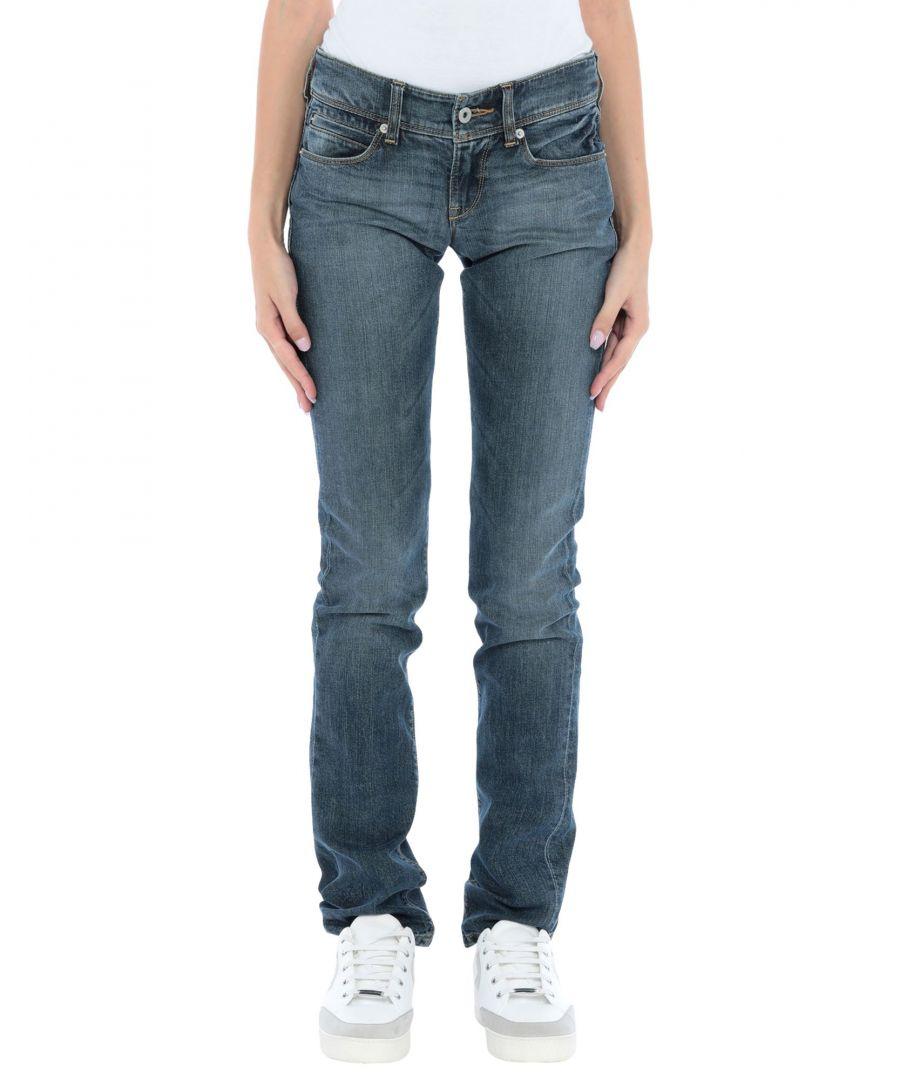 Image for Levi's Blue Cotton Medium Wash Jeans