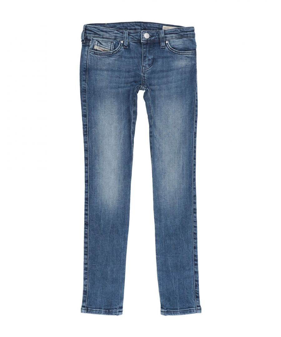 Image for DENIM Girl Diesel Blue Cotton