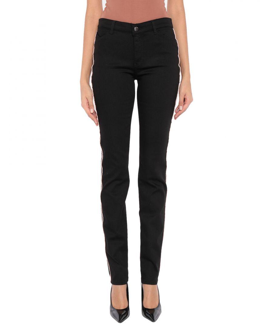 Image for Emporio Armani Black Mid Rise Jeans