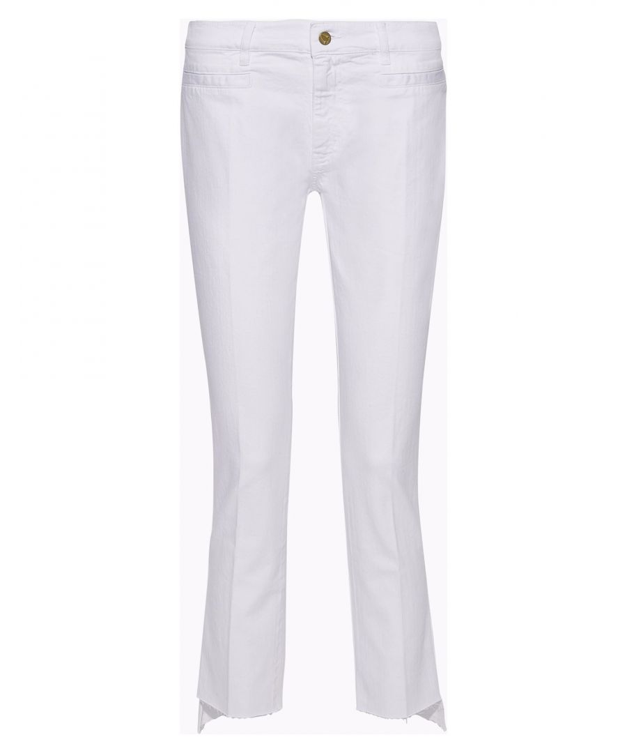 Image for M.I.H Jeans White Cotton Jeans
