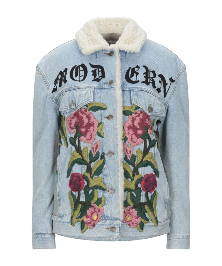 Image for Gucci Modern Embroidered Denim Jacket