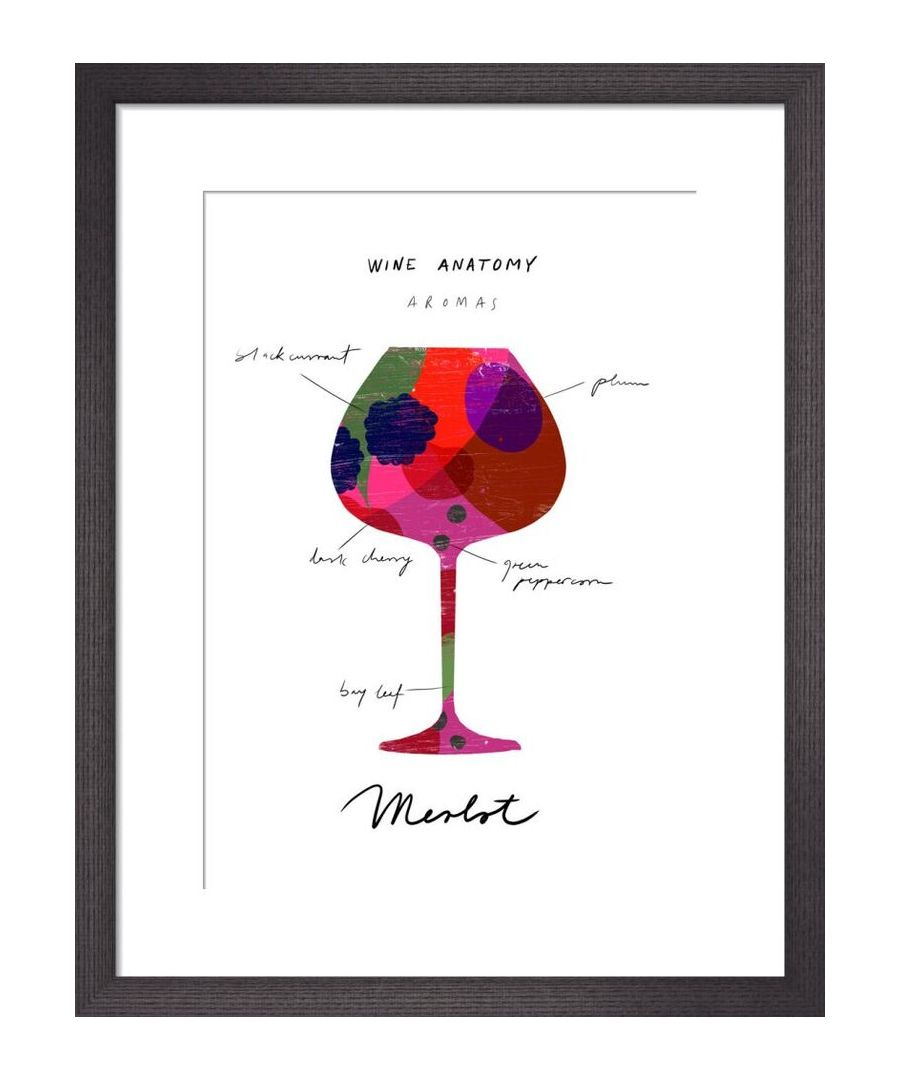 Image for Wine Anatomy: Merlot by Ana Zaja Petrak
