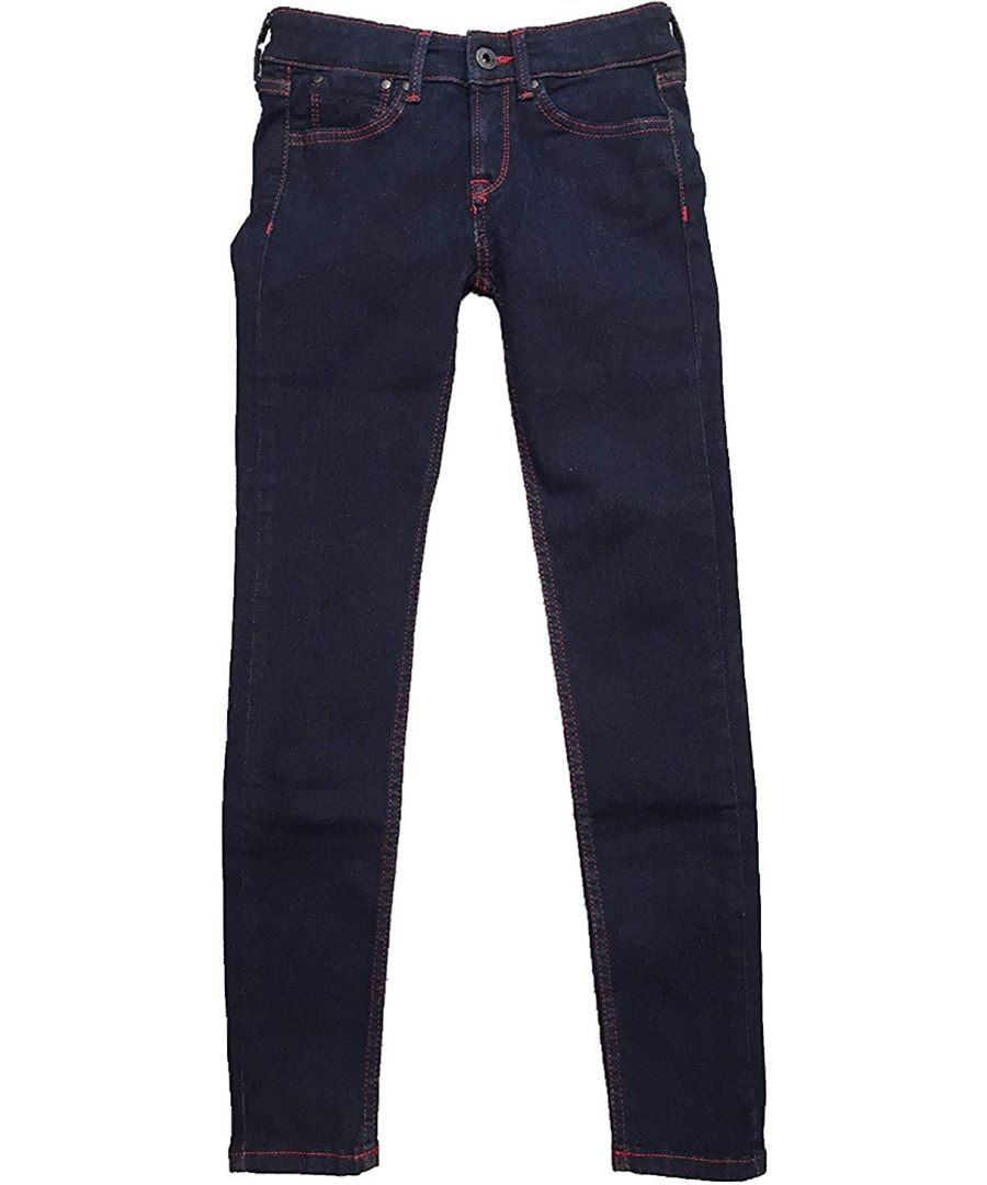 Image for Pepe Jeans Girls Skinny Jeans in Blue