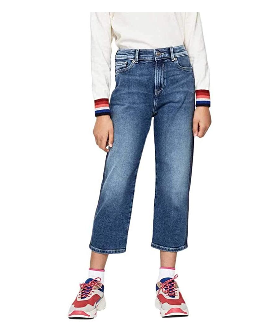 Image for Pepe Jeans Girls Straight Leg Jeans in Blue