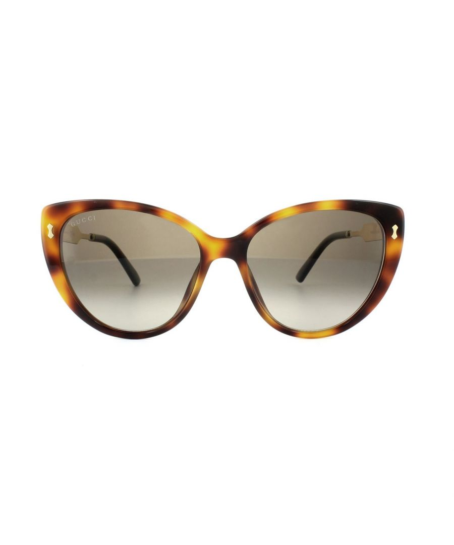 Image for Gucci Sunglasses 3804 CRX HA Havana Gold Brown Gradient