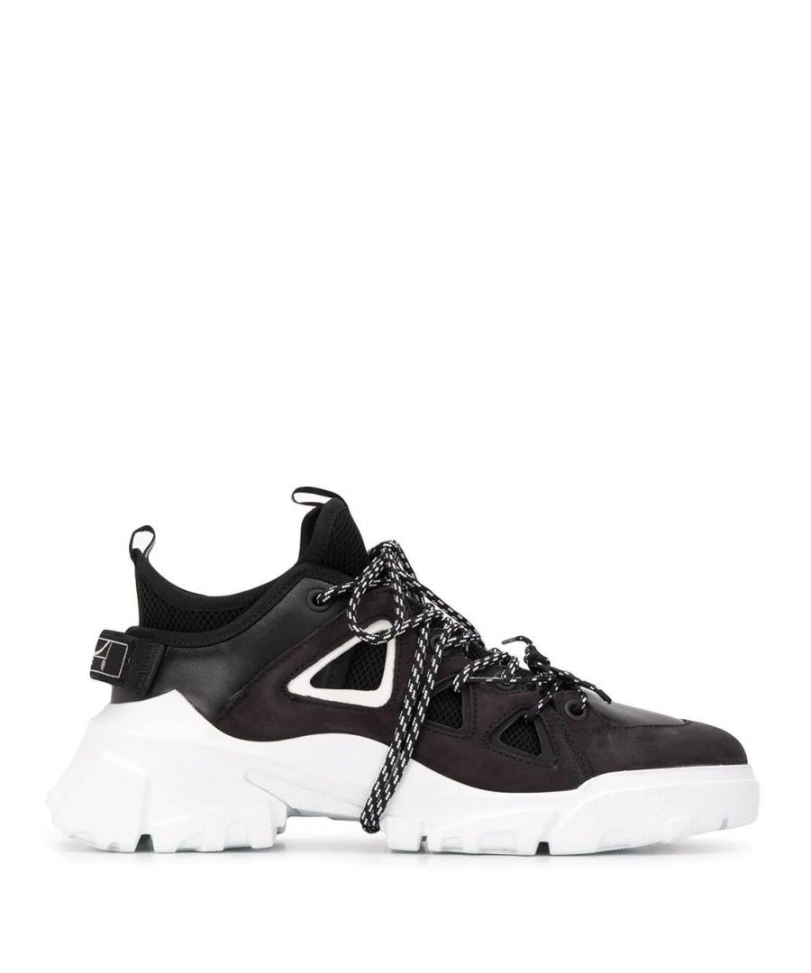 Image for MCQ BY ALEXANDER MCQUEEN MEN'S 599097R26791070 BLACK LEATHER SNEAKERS
