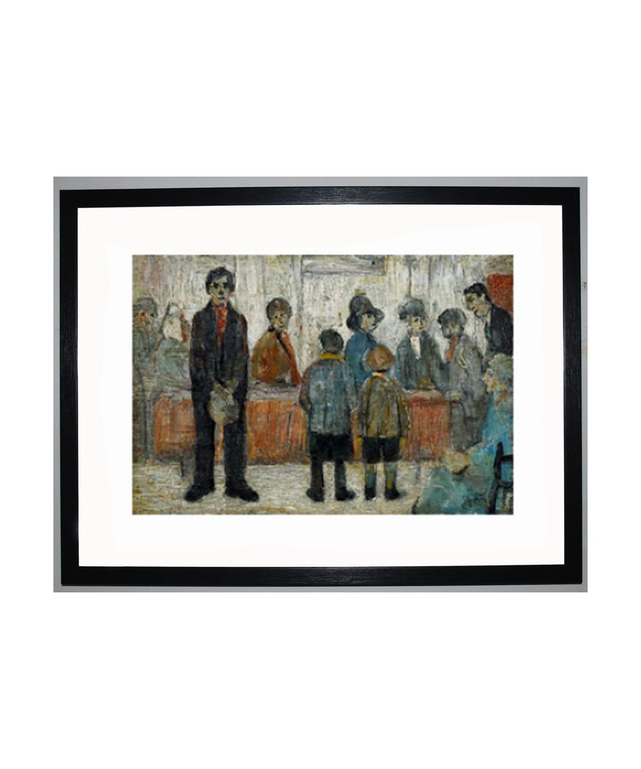 Image for A Doctors Waiting Room 1920 By Ls Lowry