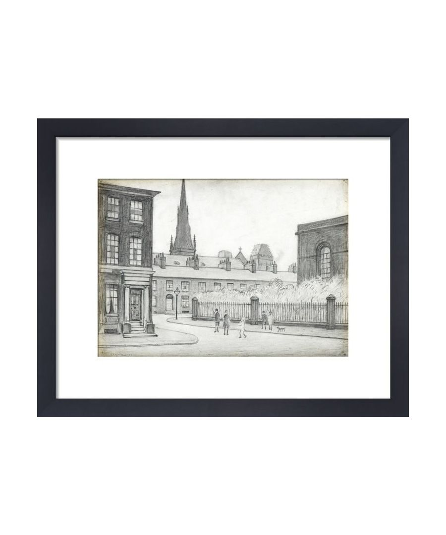 Image for By St Philips Church, Salford, 1926 by L.S. Lowry