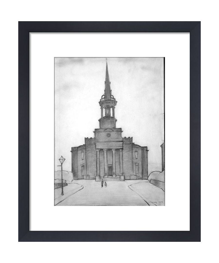 Image for Christ Church, Salford, 1956 by L.S. Lowry