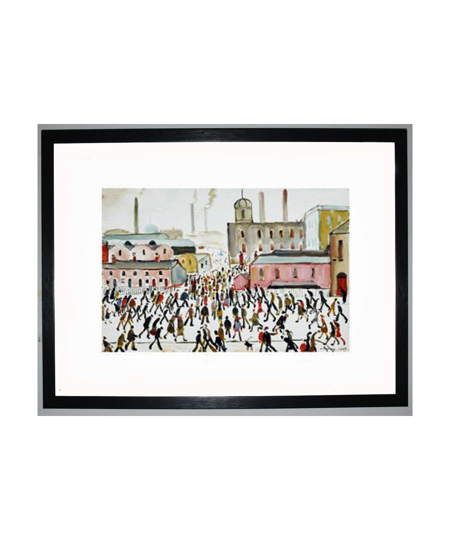 Image for Going To Work, 1959 by L.S. Lowry