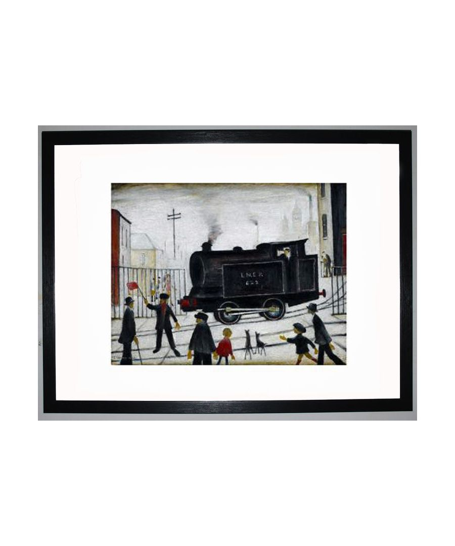Image for Level Crossing, 1946 by L.S. Lowry