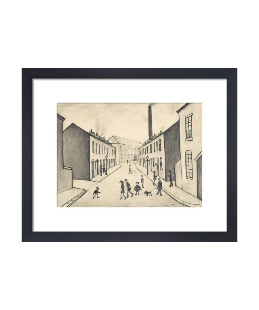 Image for North James Henry Street, Salford, 1956 by L.S. Lowry