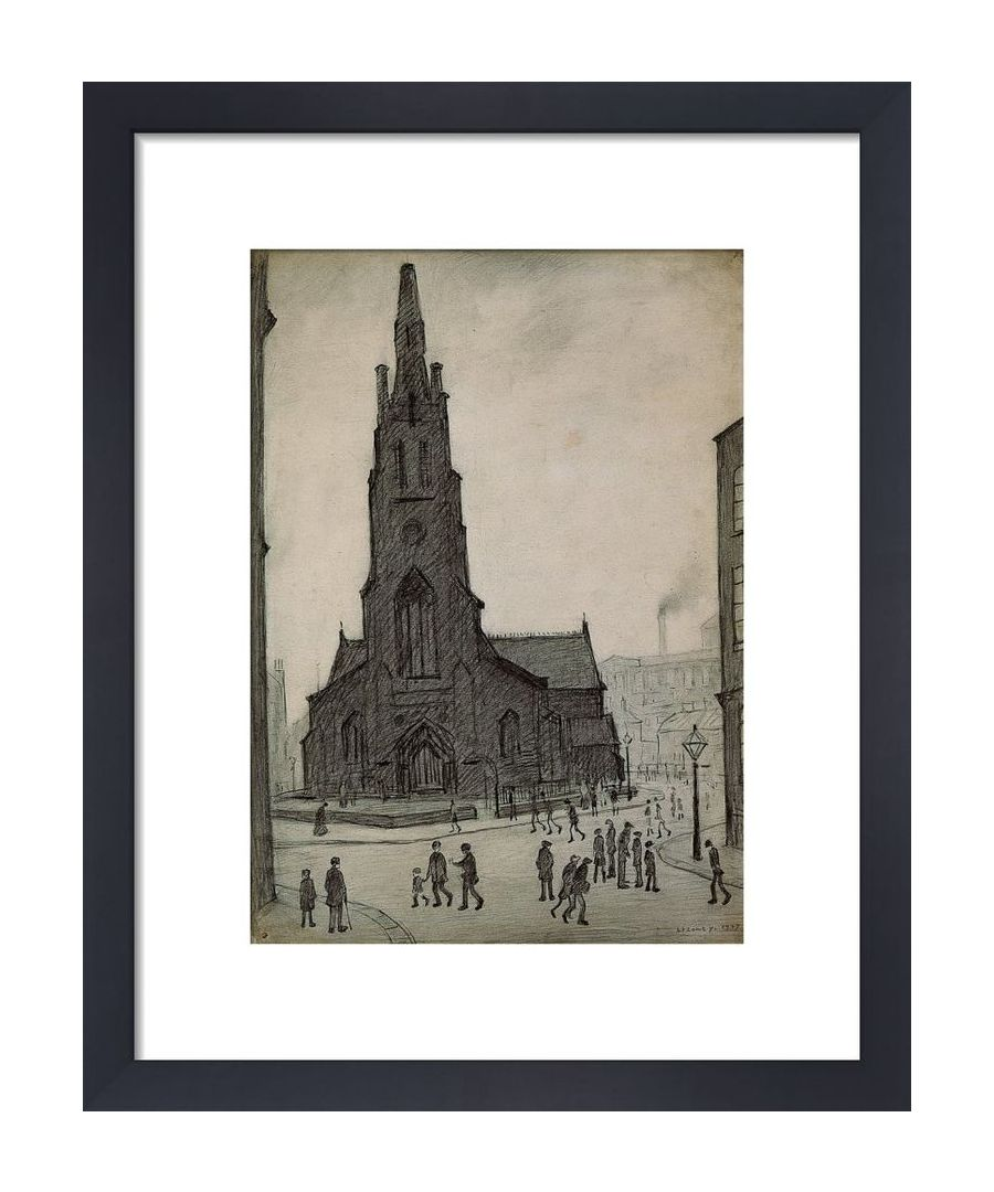 Image for Street Scene St Simons Church 1927 By Ls Lowry