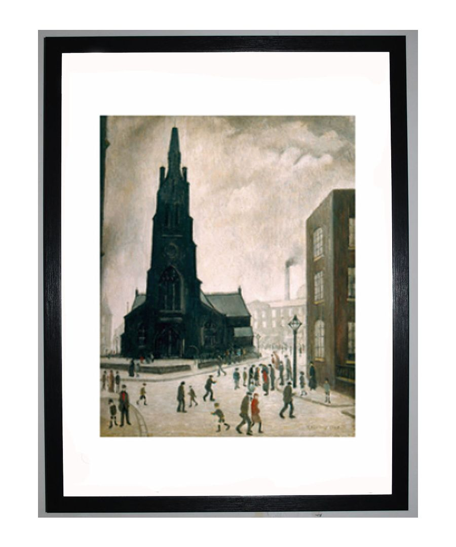 Image for Street Scene, St Simons Church, 1928 by L.S. Lowry