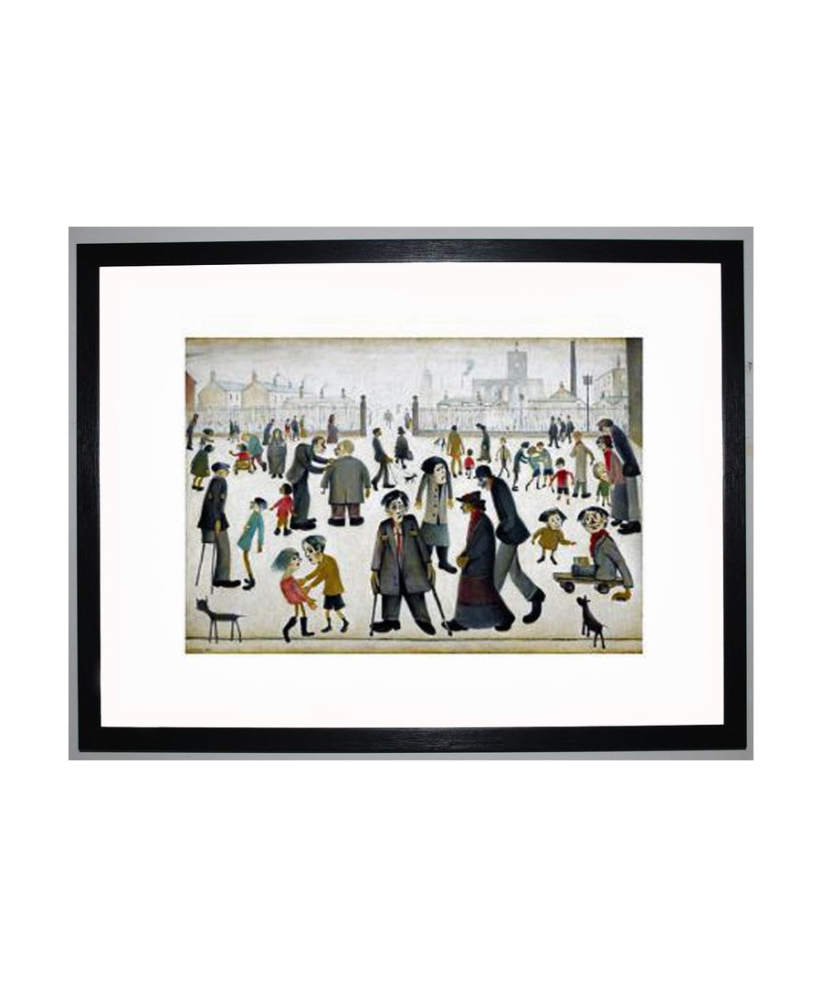 Image for The Cripples, 1949 by L.S. Lowry