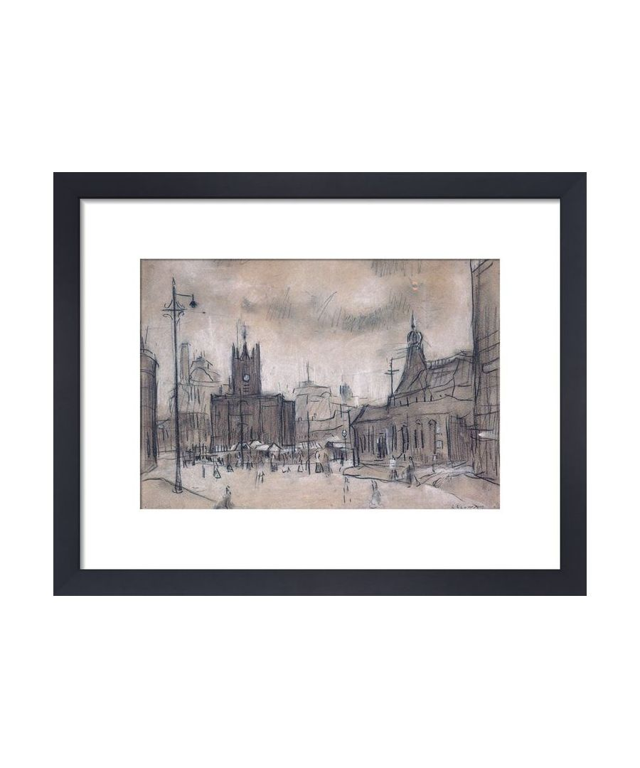 Image for The Flat Iron Market, 1925 by L.S. Lowry