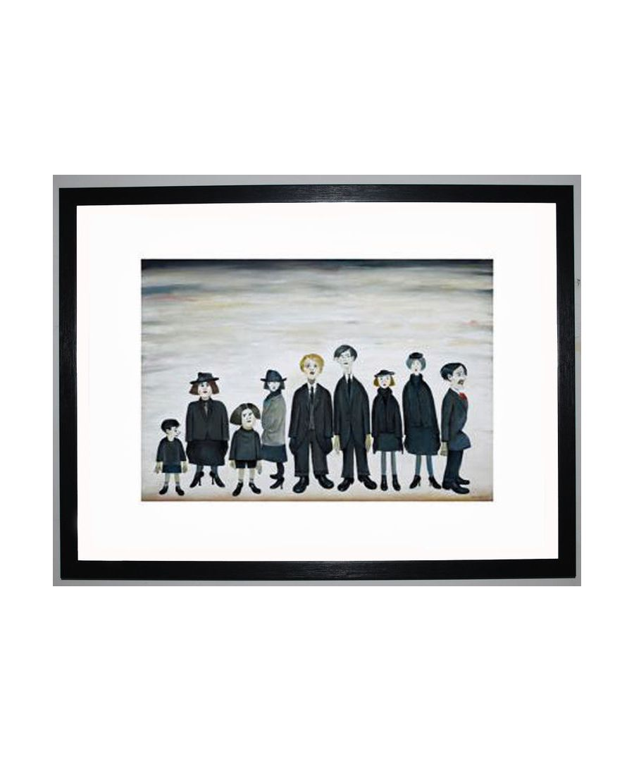 Image for The Funeral Party, 1953 by L.S. Lowry