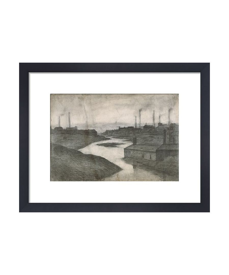 Image for The River Irwell At The Adelphi, 1924 by L.S. Lowry