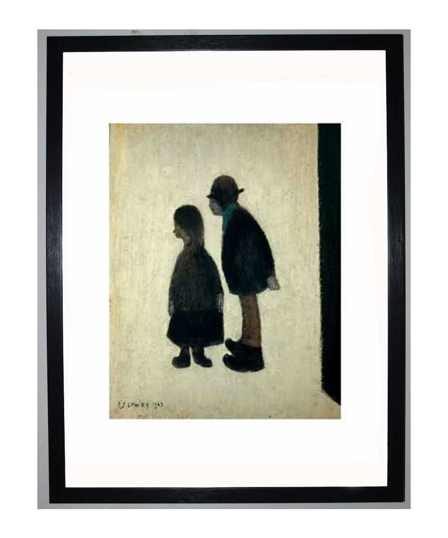 Image for Two People, 1962 by L.S. Lowry