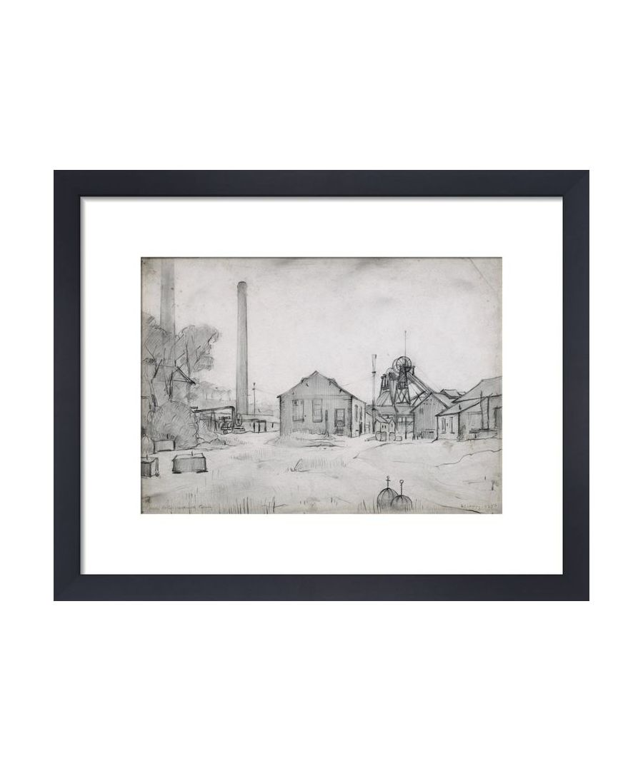 Image for Wet Earth Colliery, Dixon Fold, 1925 by L.S. Lowry