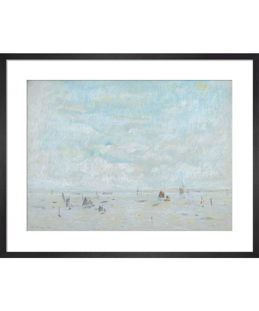 Image for Yachts, 1920 by L.S. Lowry