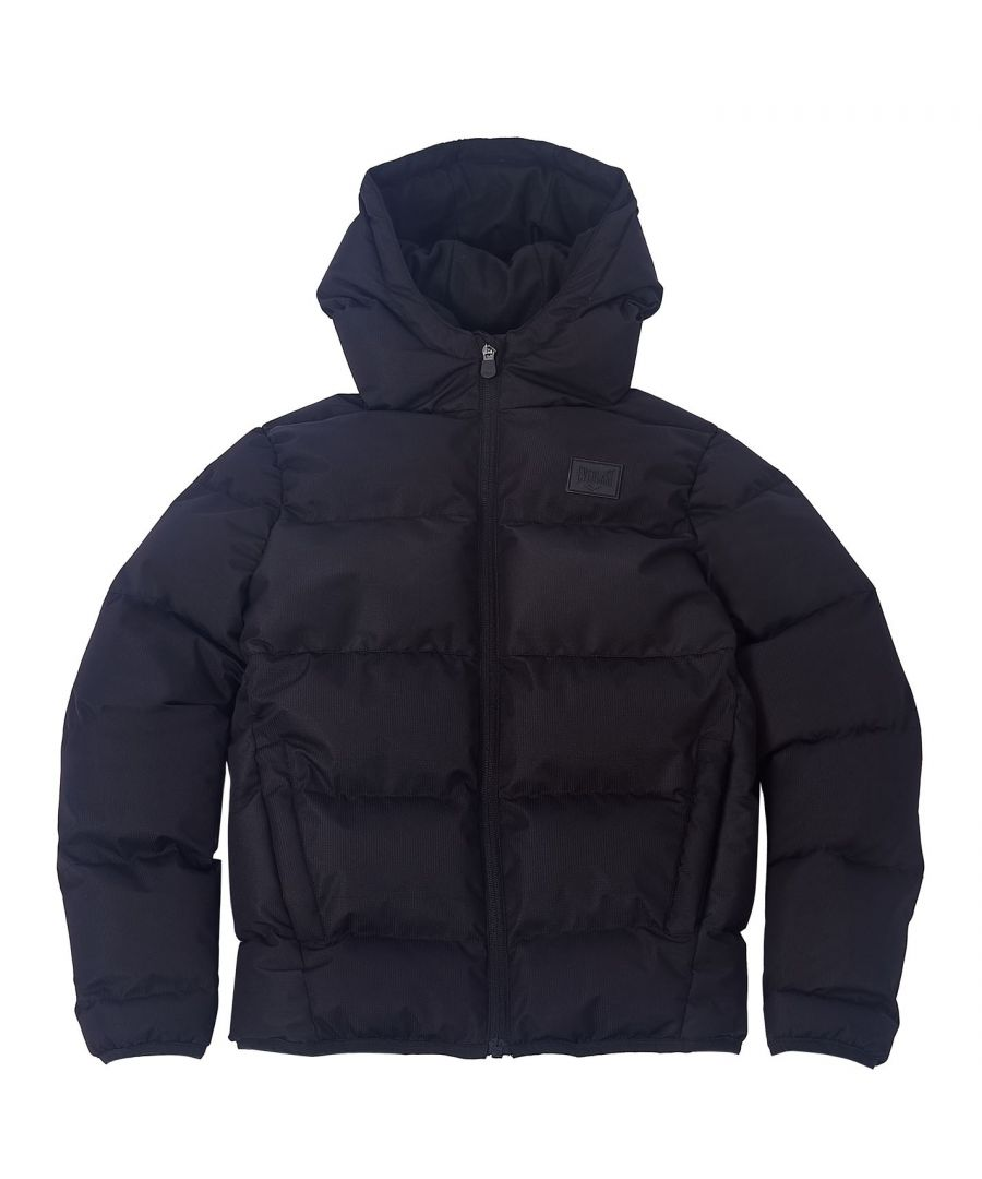 Image for Everlast Boys Bubble Jacket Puffer Jacket Outerwear Hooded Warmt Winter Top