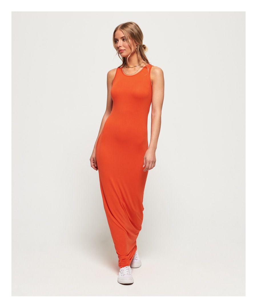 Image for Superdry Super Slinky Maxi Dress