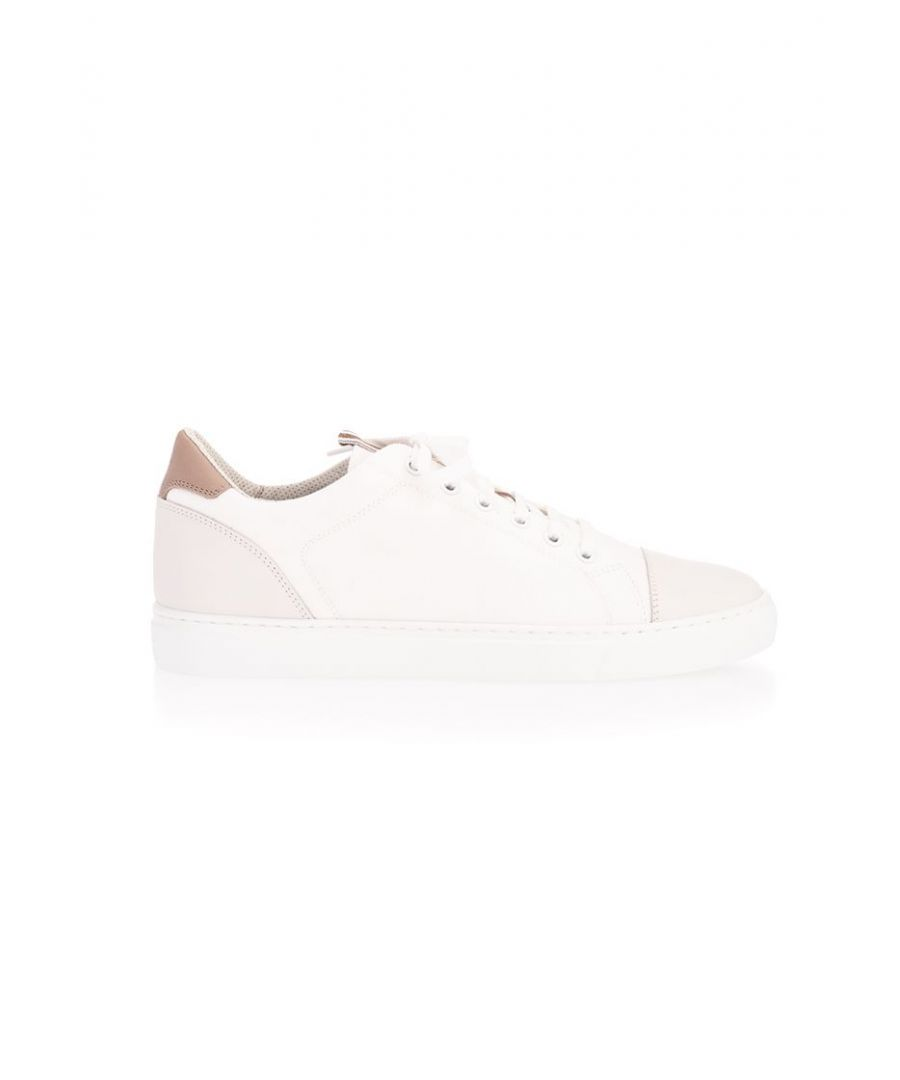 Image for BRUNELLO CUCINELLI MEN'S MZUYBBW248CE228 WHITE COTTON SNEAKERS